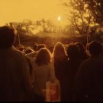 Audience at Mariposa Folk Festival, 1978.