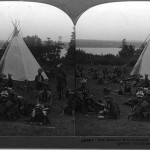 An example of a stereograph from the Quebec Tercentenary Collection, F0112.