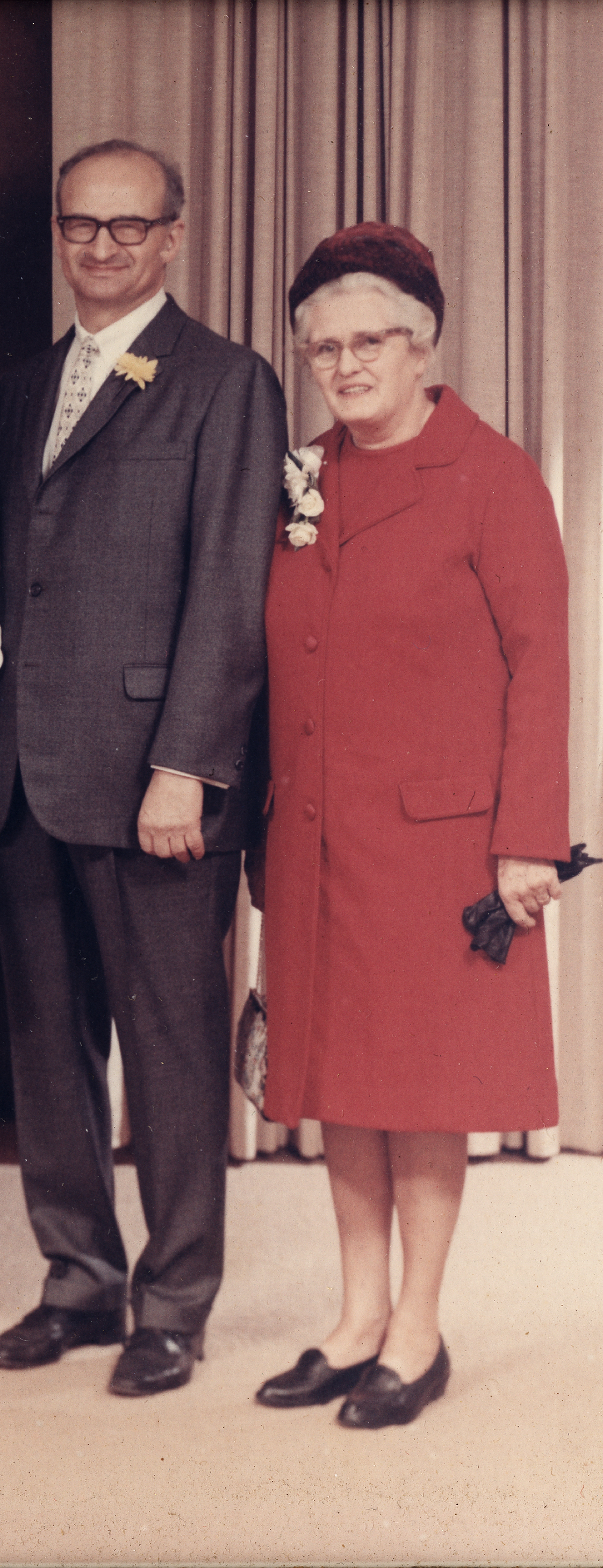 Portrait of Lee and Grace Lorch, [before 1974]