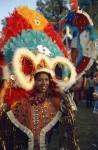 Mas camp dancer at 1968 Caribana festival on Centre Island. Photographer: Jac Holland. Image no. ASC06110.