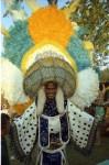 Mas camp dancer at 1968 Caribana festival on Centre Island. Photographer: Jac Holland. Image no.ASC06112.