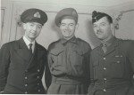 All three Bartlett brothers: from left, Ernest, Jack and Rick.