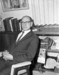 Rabbi Gunther Plaut, January 24, 1964. Photographer: Woods. Toronto Telegram fonds, image no. ASC04768.