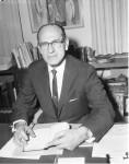 Rabbi Gunther Plaut, January 24, 1964. Photographer: Woods. Toronto Telegram fonds, image no. ASC04769.