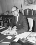 Rabbi Gunther Plaut, January 24, 1964. Photographer: Woods. Toronto Telegram fonds, image no. ASC04770.