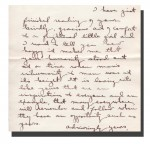 Excerpt from letter sent to Grace Lorch in 1957. From Lee Lorch fonds, Accession 2007-054 / 026 (17).